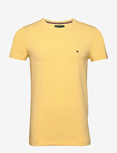 STRETCH SLIM FIT TEE - kortærmede t-shirts - sun ray