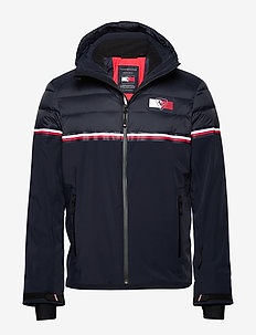 THXR GLOBAL STP QUILTED SKI JKT - SKY CAPTAIN