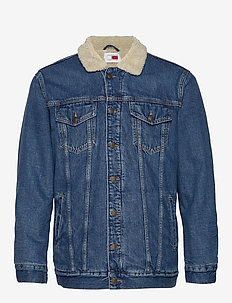 LH DENIM JKT - STONE WASH