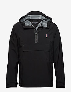 MODERN ESSENTIALS POPOVER JACKET - anorakker - black
