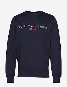 TOMMY LOGO SWEATSHIRT - SKY CAPTAIN