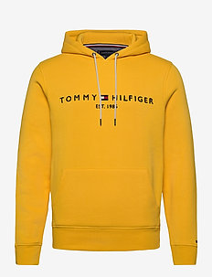 TOMMY LOGO HOODY - sweats à capuche - primary yellow