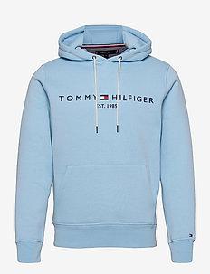 TOMMY LOGO HOODY - sweats à capuche - sail blue
