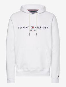TOMMY LOGO HOODY - hættetrøjer - white