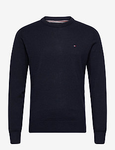 PIMA COTTON CASHMERE CREW NECK - basic gebreide truien - desert sky heather