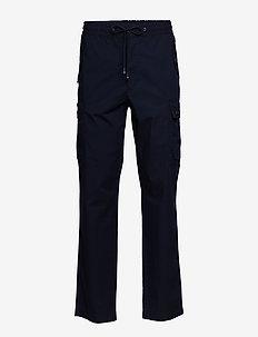 TRACK CARGO PANT - pantalons décontractés - sky captain