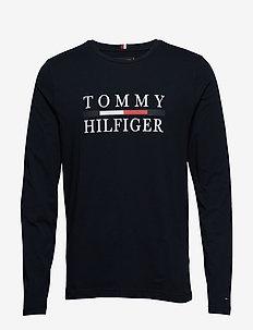 TOMMY HILFIGER LONG, - SKY CAPTAIN