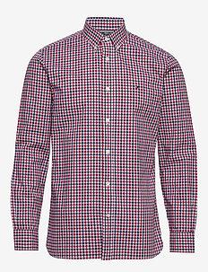 FLEX MULTI GINGHAM SHIRT - ternede skjorter - primary red / multi