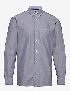 CRISP OXFORD SHIRT - basic skjorter - carbon navy