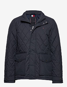 QUILTED JACKET - quiltede - desert sky