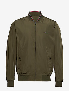 REVERSIBLE BOMBER - ARMY GREEN