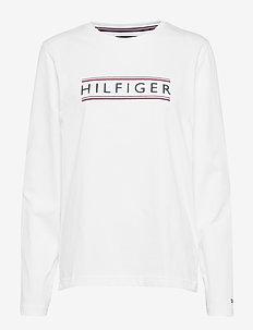 WCC CORP HILFIGER LS - WHITE