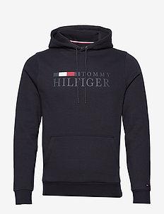 BASIC HILFIGER HOODY - DESERT SKY