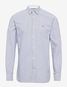 ORGANIC OXFORD STRIPE SHIRT - business skjorter - blue ink / multi
