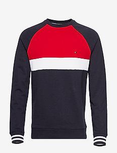 COLORBLOCKED SWEATSHIRT - sweatshirts - desert sky / multi