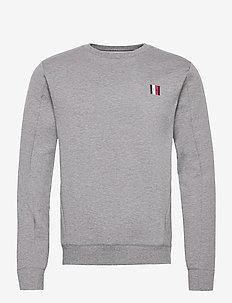 MODERN ESSENTIALS SWEATSHIRT - basic sweatshirts - dark grey heather
