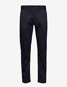 TAPERED TECH STRETCH TWILL FLEX - pantalons habillés - desert sky