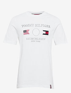 ANCHOR FLAGS RELAXED FIT TEE - WHITE