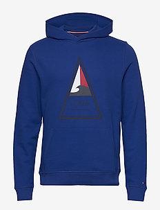 TH COOL SURF ARTWORK - hoodies - phthalo blue