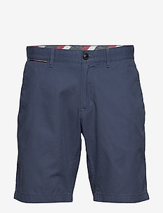 BROOKLYN SHORT LIGHT TWILL - chinos shorts - faded indigo