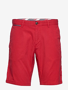 BROOKLYN SHORT LIGHT TWILL - chinot - primary red
