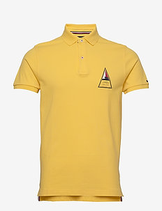 TH COOL RUBBER PRINT SLIM POLO - SUNNY