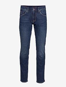 SLIM BLEECKER PSTR C - slim jeans - crane blue