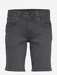 BROOKLYN 5PKT SHORT - denim shorts - ames grey
