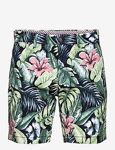 BROOKLYN SHORT AO PRINT - casual shorts - floral print green
