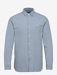 FLEX CHAMBRAY SHIRT - chemises basiques - medium indigo