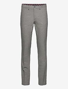 DENTON CHINO WOOL LOOK FLEX - puvunhousut - light grey heather