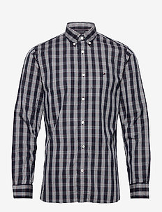 MULTI CHECK SHIRT - casual shirts - desert sky / primary red / mul