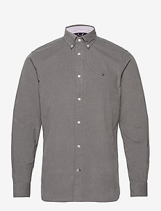 FLEX CORDUROY SHIRT - casual shirts - pewter grey
