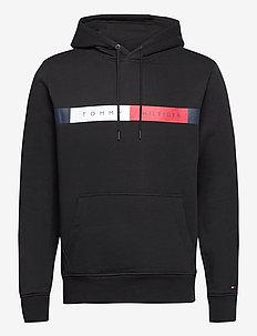 RWB LOGO HOODY - hoodies - black