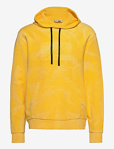 LH GMD FLAG HOODY - hoodies - marigold yellow