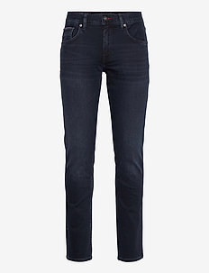 CORE SLIM BLEECKER IOWA BLUEBLCK - slim jeans - iowa blueblack
