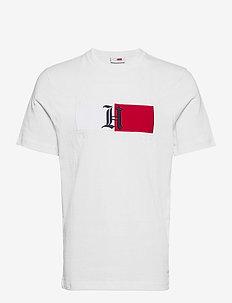 LH CLASSIC LOGO TEE - krótki rękaw - white