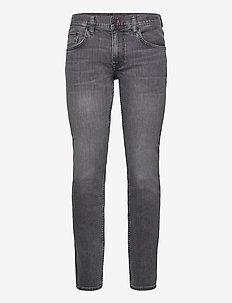 STRAIGHT DENTON STR ODIN BLACK - regular jeans - denim black 12