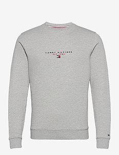ESSENTIAL TOMMY CREWNECK - overdeler - medium grey heather