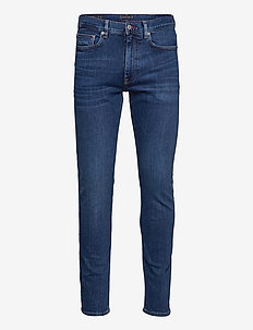 CORE SLIM BLEECKER OREGON IND - slim jeans - oregon indigo