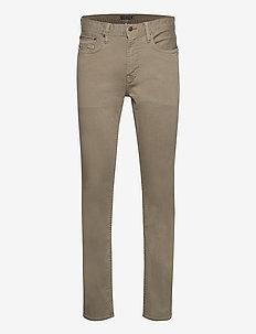 STRAIGHT DENTON STR COLOUR - slim jeans - faded military