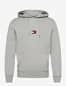 NEW HOODIE PRINTED - hupparit - medium grey heather