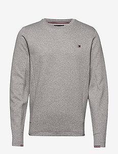 2 MB TECH SWEATSHIRT - sweatshirts - medium grey heather