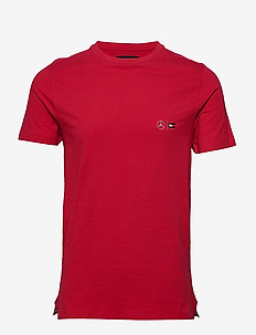2 MB TECH CNECK TEE - basic t-shirts - primary red