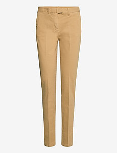 HERITAGE SLIM FIT CHINO - chinos - classic camel