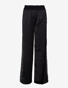 ICON ALINA FLARED CR - casual housut - black beauty