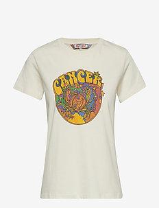 ZENDAYA ZODIAC TEE SS - CALICO / CANCER