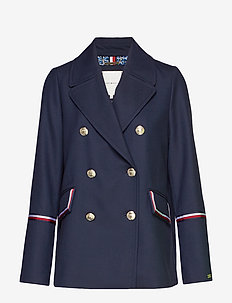 MADISON PEACOAT - blazere - sky captain