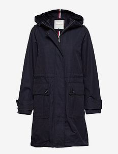 TH ESSENTIAL PARKA, - parka coats - midnight