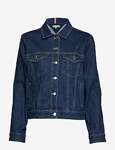TH ESS VERONICA JACKET NICOLA - denim jackets - nicola
